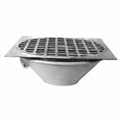 Zurn Z319-3<br> Thoroflush Drain Large Capacity<br>3in Pipe Size