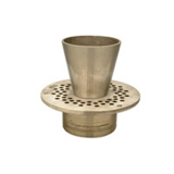 Zurn ZB400-7E<br> 7In Rd Adj Polished Bronze Strainer