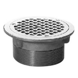 Zurn Z400-6H Type H Round 6in Strainer w Clamp Device