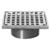 Zurn Z400-6SH<br> Type SH Square Hinged <br>6x6 Strainer