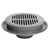 Zurn Z509-4NL-S-Y 12In Dia Heavy Duty Drain-Secondary Strainer