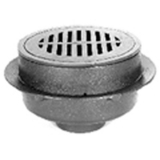 Zurn Z521-3IC<br> 12In Dia Adjustable Heavy Duty Drain