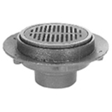 Zurn Z525-2IC<br> 9InDia Adjustable Medium Duty Drain