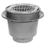 Zurn Z538-3IC<br> 12In Dia Medium Duty Drain