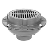 Zurn Z550-3IC 9In Dia Medium Duty Drain