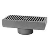 Zurn Z576-3NH 7In x 15In Medium Duty Gutter Drain