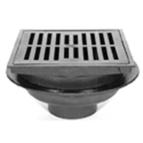 Zurn Z610-2NH-H 12In Square Heavy Duty Drain-Hinged Grate