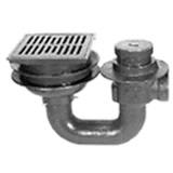 Zurn Z761-3<br> 12x14 Top Heavy-Duty Drain<br> 3 in Pipe