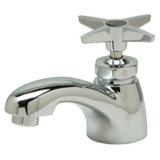 Zurn AquaSpec Z82702 Single Basin Faucet With Four Arm Handle.