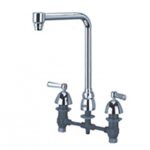 "Zurn Z831S1 Widespread With 8"""" Bent Riser Spout And Lever Handl"