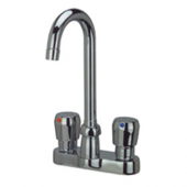 "Zurn Z866A0 4"""" Centerset Metering Faucet With 3-1/2"""" Gooseneck"