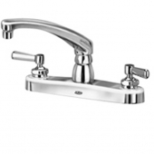 "Zurn Z871G1-XL Kitchen Sink Faucet With 8"""" Cast Spout And Lever"