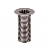 "CHG E16-4021 Drain Nickel Plated 1"" IPS X 3-1/4"""