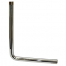 CHG E48-4660 Overflow Elbow Chrome Plated Brass