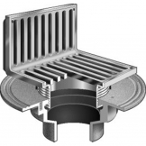 MIFAB  F1100-AS FLOOR DRAIN / ANGLE STRAINER / NON-FLOOR AREAS
