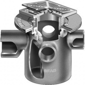 MIFAB F1170-C-SD  FLOOR DRAIN / INLETS /TRAP/ SQ SOLID HINGE