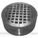 "5-1-CL Mifab 5"" DIA NB GRATE/ NB STRAINER-COUNTERLINE SERIES"