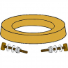 SWAN WAX WITH BRASS BOLT KIT - (Case of 48)